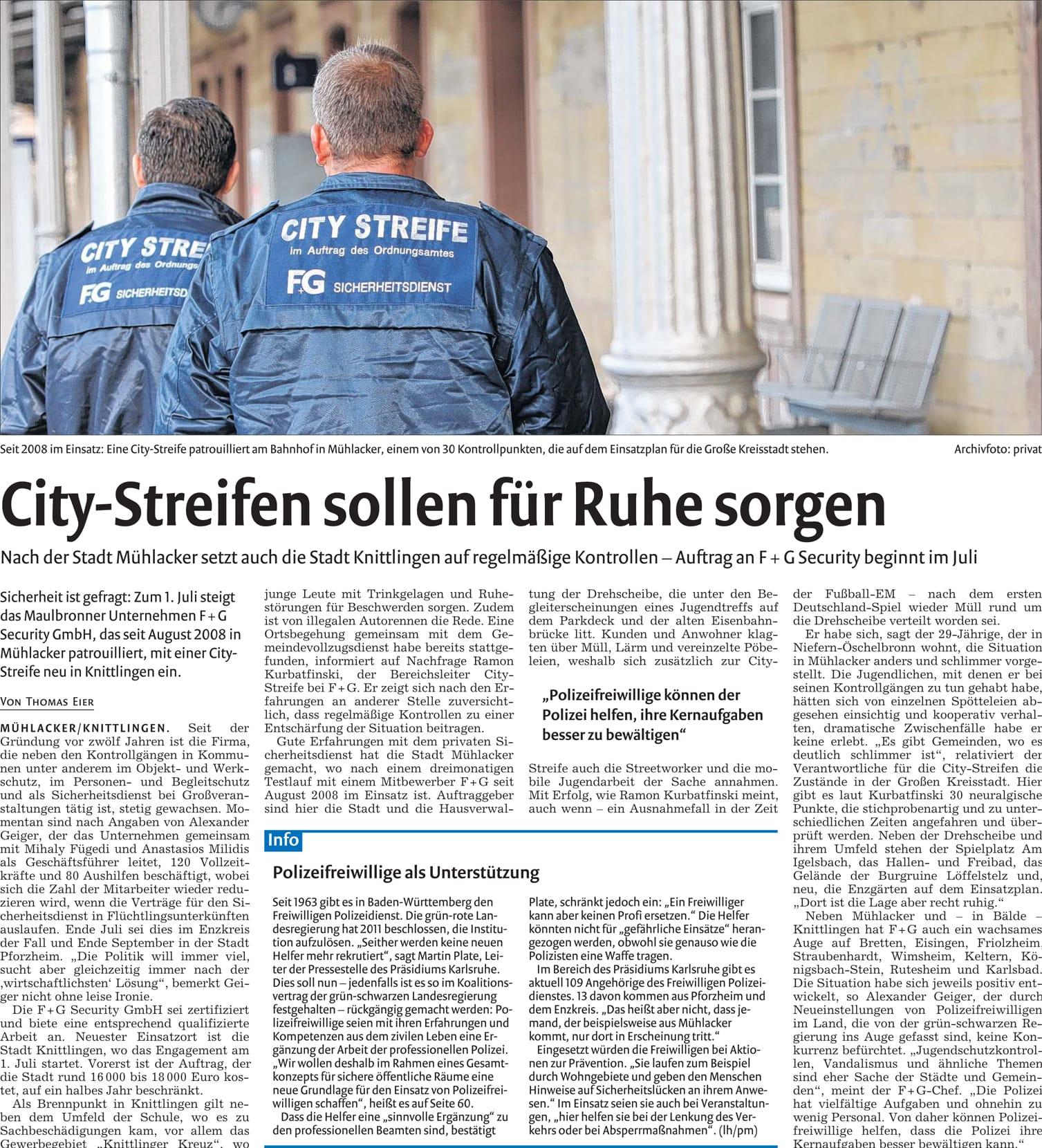 Pforzheimer Zeitung Stellenanzeigen